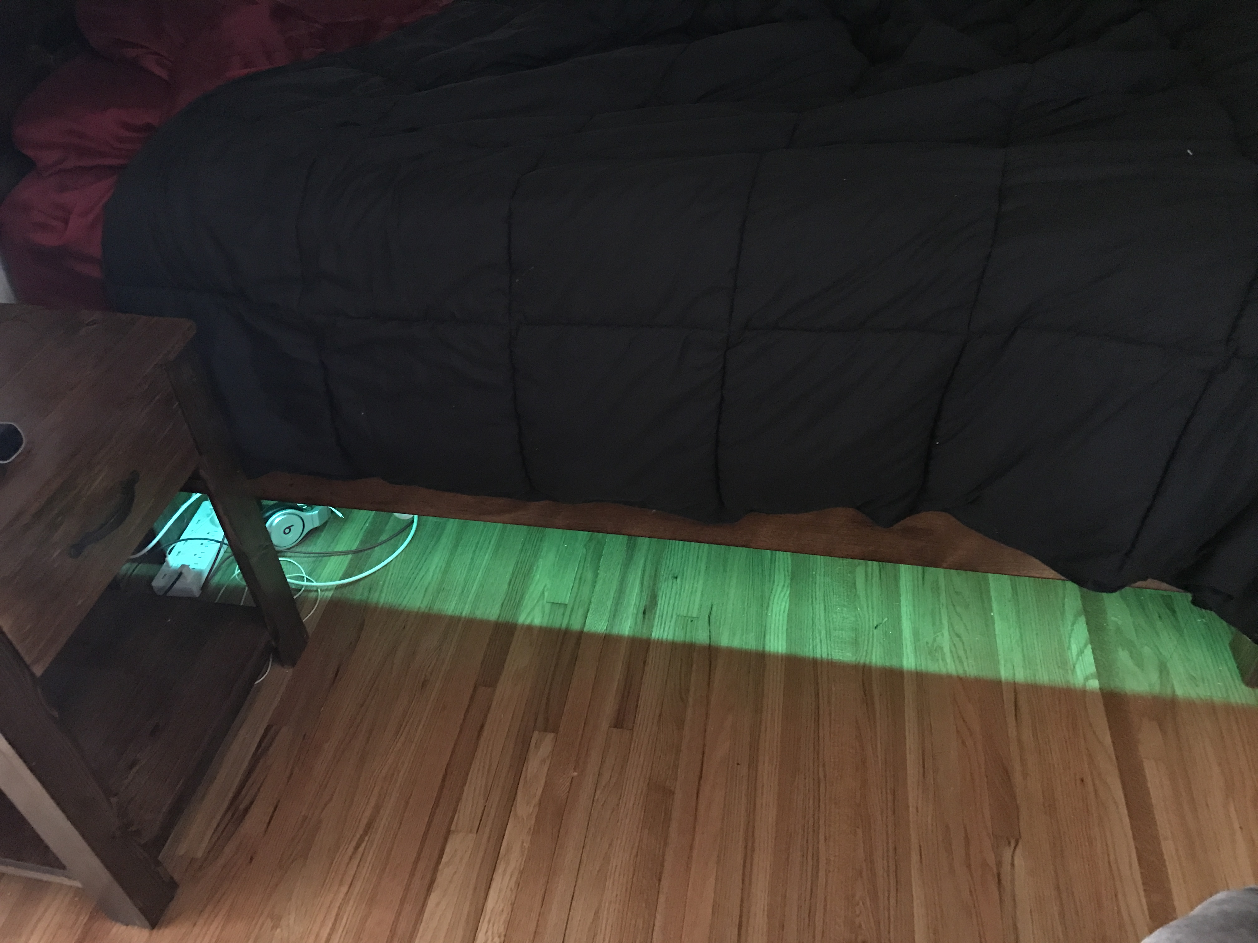 under bed led lighting. This Way, When I Walk Into My Room Or Get Out Of Bed It Is Dark, These Will Light Up And Provide A Nice Ambient Glow That Make Easier To See. Under Led Lighting Y